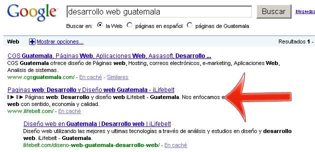 Desarrollo web en Guatemala