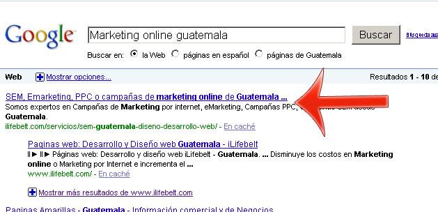 Posicionamiento Guatemala SEO