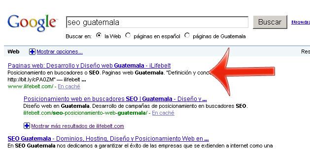 Posicionamiento en buscadores SEO Guatemala