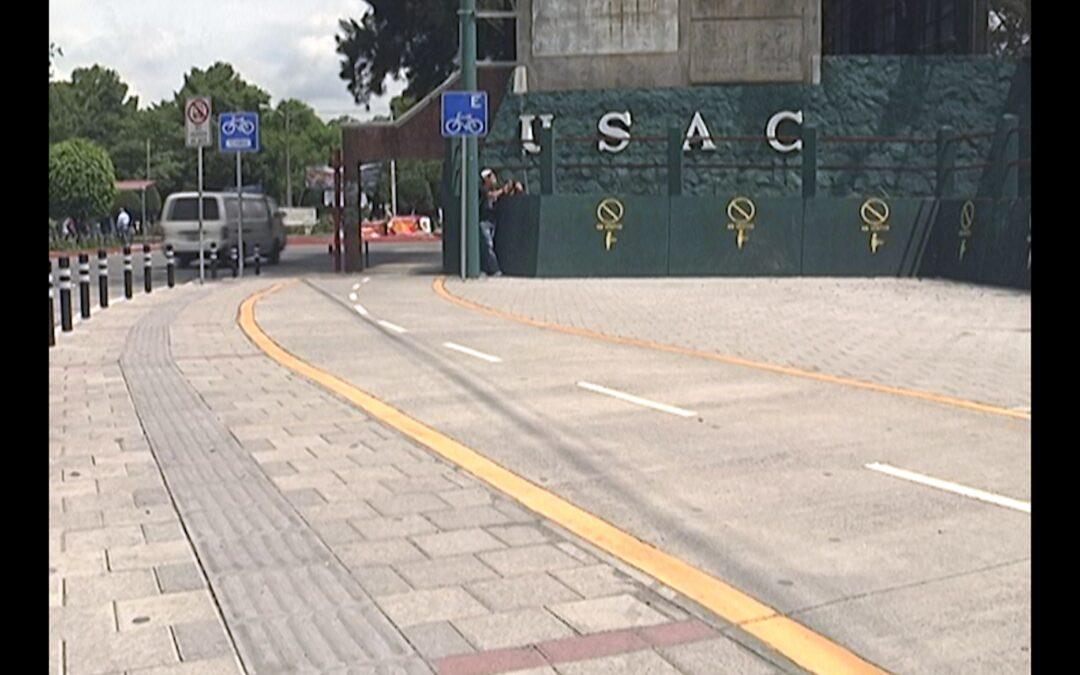 Ciclovía en la Universidad de San Carlos de Guatemala