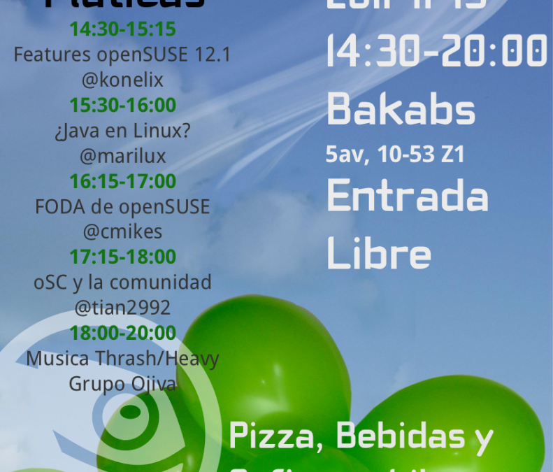 openSUSE Launch Party 12.1