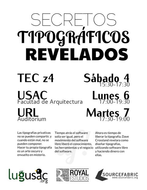 Workshop: Secretos Tipográficos Revelados