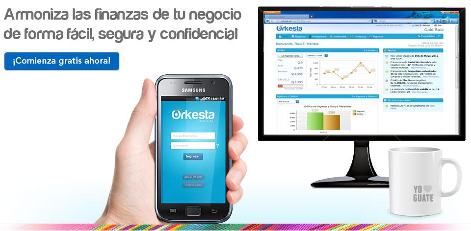 Orkesta Finanzas: Aplicación Web para gestionar registros contables
