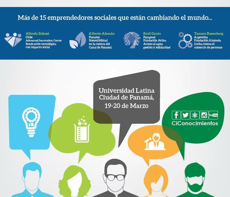 Conferencia: El Camino del Emprendedor Social – 19 y 20 de Marzo Panamá