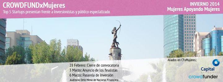 CROWDFUNDxMujeres – 28 de febrero a 6 de marzo – México