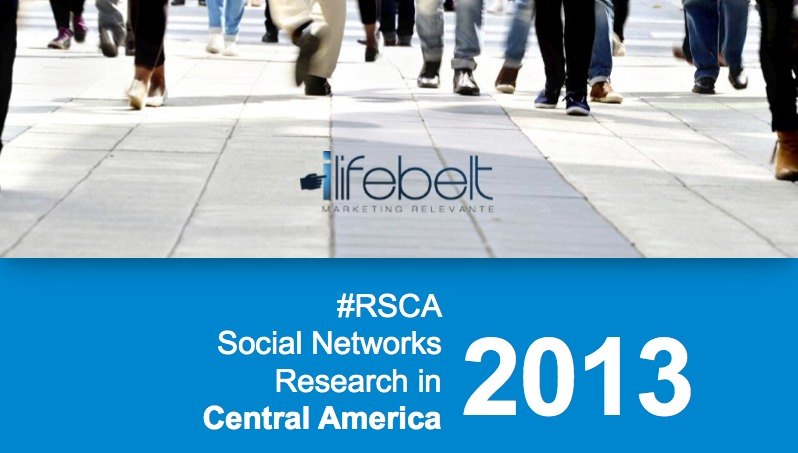 RSCA Research Central America – 2013 english edition