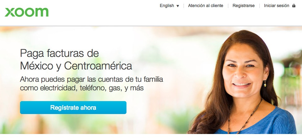 "Xoom lanza para Centroamérica y el Caribe ""Xoom Bill Pay"" para pagar facturas de servicios desde USA"