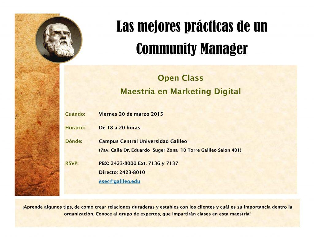 Maestria en Marketing Digital Guatemala