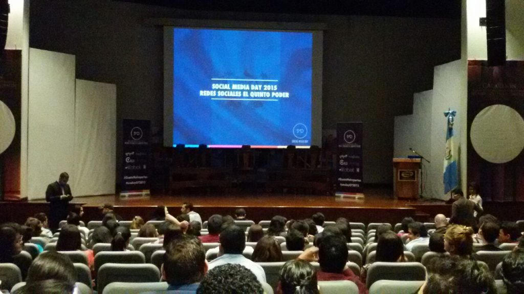 Evento de Social Media Day Guatemala – Julio 2015