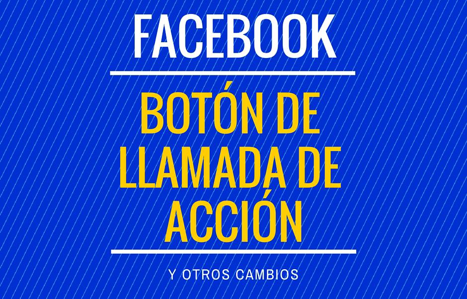 Cambio en Facebook Empresas