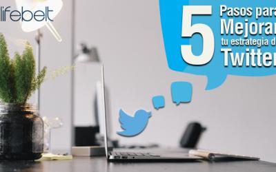 Cómo mejorar tu estrategia de Twitter 2016 en 5 pasos
