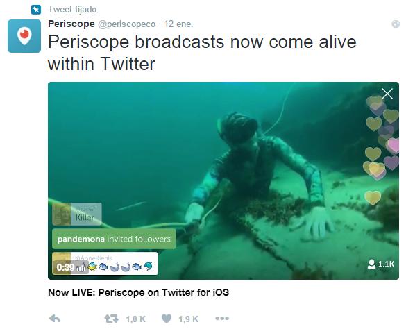 Periscope   periscopeco    Twitter