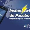 Artículos Instantáneos Facebook