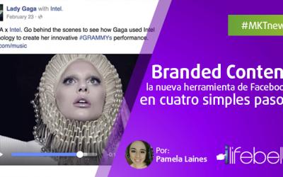 Branded Content en Facebook: La nueva herramienta en 4 pasos