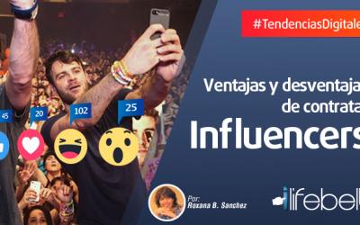 El doble filo de los influencers en Redes Sociales