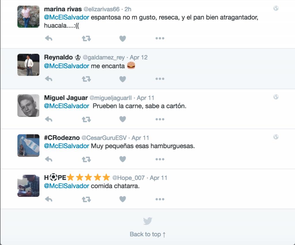 viralidad de McDonald's El Salvador