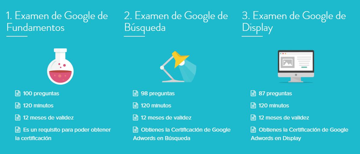 Curso Online de Adwords para la certificacion de Google