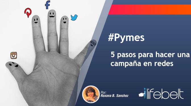 campaña en redes sociales