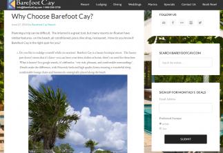 Barefoot Cay Blog Visit Roatan Honduras