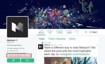 Medium Medium Twitter