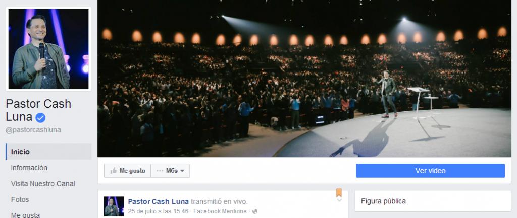 Pastor Cash Luna