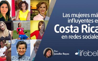 Las mujeres más influyentes en Costa Rica en redes sociales
