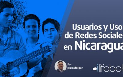 Usuarios y uso de redes sociales en Nicaragua