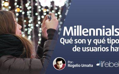 Millennials: Qué son y qué tipos de usuarios hay