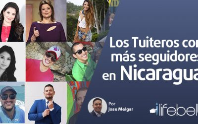 Los 10 Tuiteros más seguidos en Nicaragua al 2018