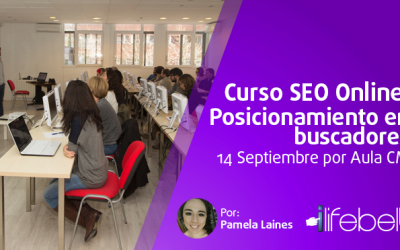 Curso de SEO Online: Posicionamiento en buscadores, 14 Septiembre por Aula CM
