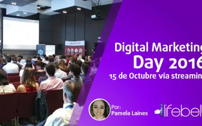 Digital Marketing Day 2016, 15 de octubre vía streaming, Santiago de Compostela