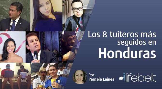 Los 8 tuiteros más seguidos en Honduras