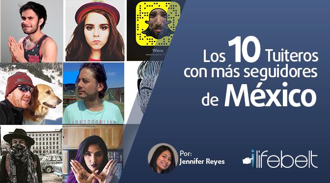 Los 10 twitteros con más seguidores de México