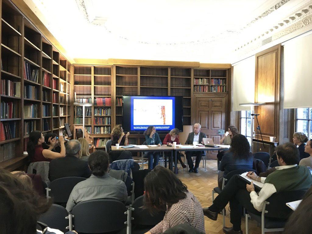 Uno de los paneles de discusión del VII Coloquio de la Red Europea de Investigaciones sobre Centroamérica.