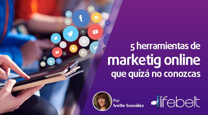 5 herramientas de marketing online que quizá no conozcas