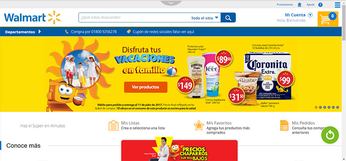 e-commerce en México, Walmart