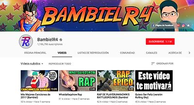 Youtuber de El Salvador