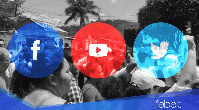 El papel de las Redes Sociales en las Manifestaciones de Nicaragua