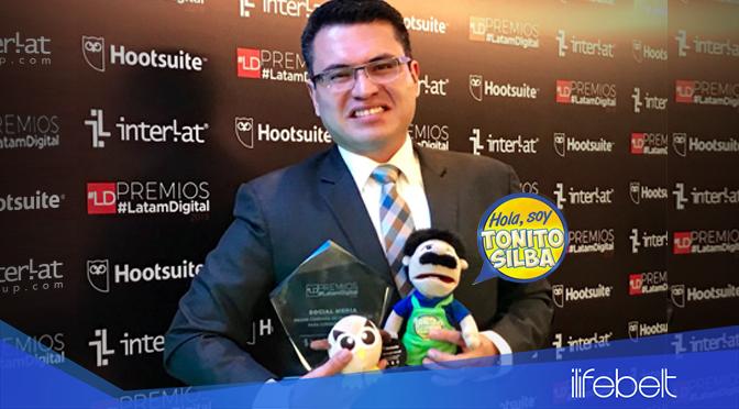 Tonito Silba, la campaña de Chicharrones Señorial recibe galardón a la mejor campaña digital en Latinoamérica