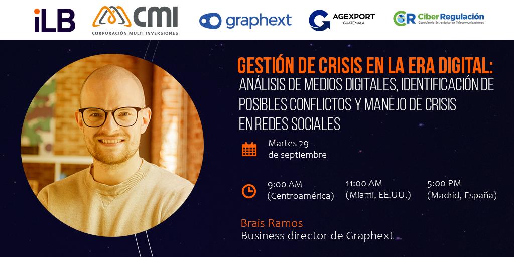Gestión de la crisis en la era digital [conferencia]