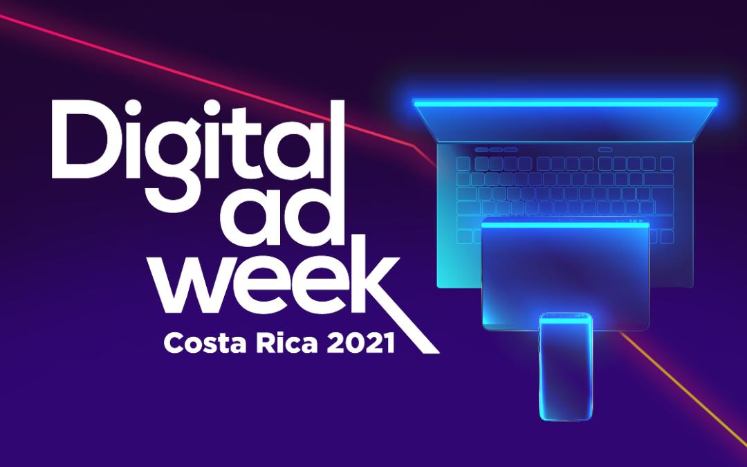 El Digital Ad Week 2021 se llevará a cabo en Costa Rica